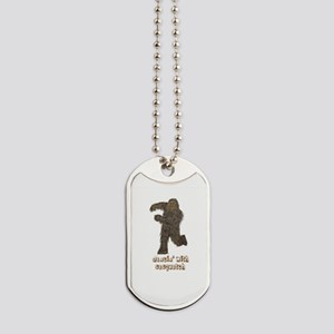 Dancing with Sasquatch Dog Tags