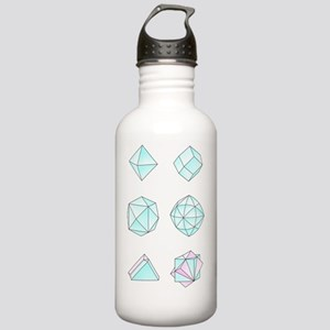 Diamond crystal forms, Stainless Water Bottle 1.0L