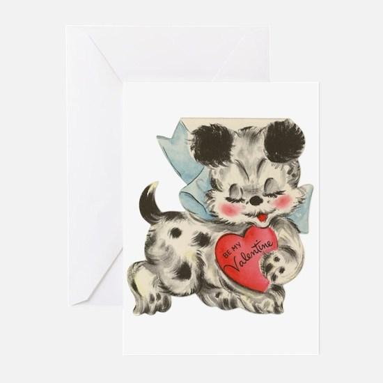 Puppy dog Valentine Greeting Cards (Pk of 10)