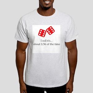 Rollin' 6s Ash Grey T-Shirt