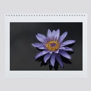 Water Lily Wall Calendar