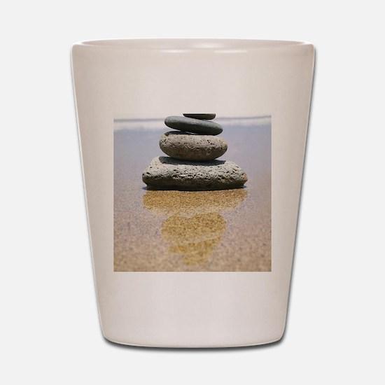 serenity stones Shot Glass