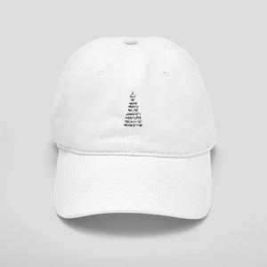 Christmas Bird Tree Cap