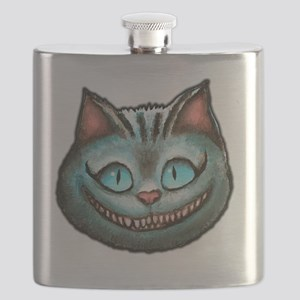 Cheshire face Flask