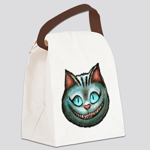 Cheshire face Canvas Lunch Bag