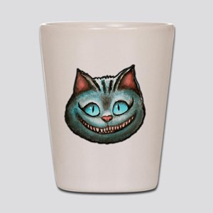 Cheshire face Shot Glass