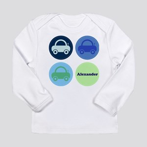 Toy Cars Personalisable Long Sleeve T-Shirt