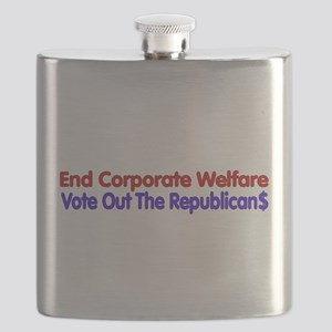 End Corporate Welfare Flask
