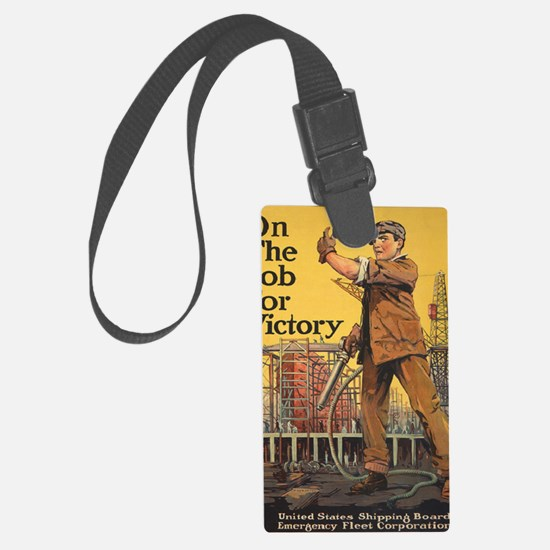 WW I HOME FRONT Shipping Board Luggage Tag