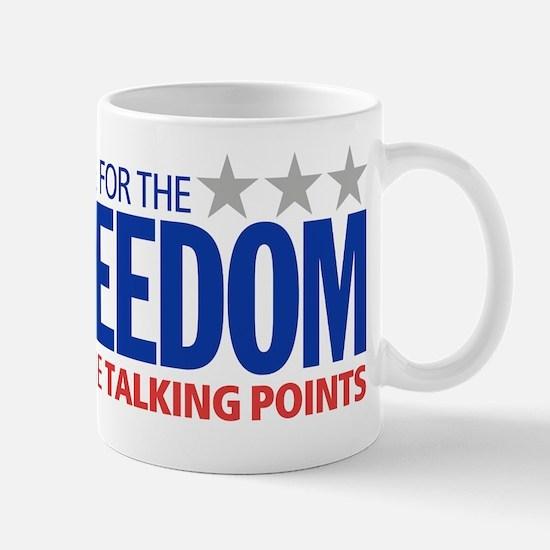 freedom_talking Mug