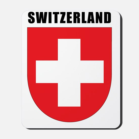 Switzerland Coat Of Arms Mousepad