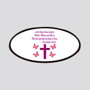 1 CORINTHIANS 13:13 Patches