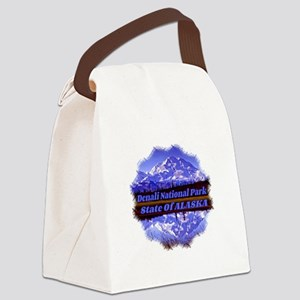 Mt. McKinley in Fall Canvas Lunch Bag