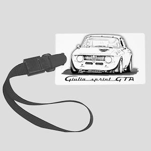 Alfa Romeo Giulia Sprint GTA Large Luggage Tag
