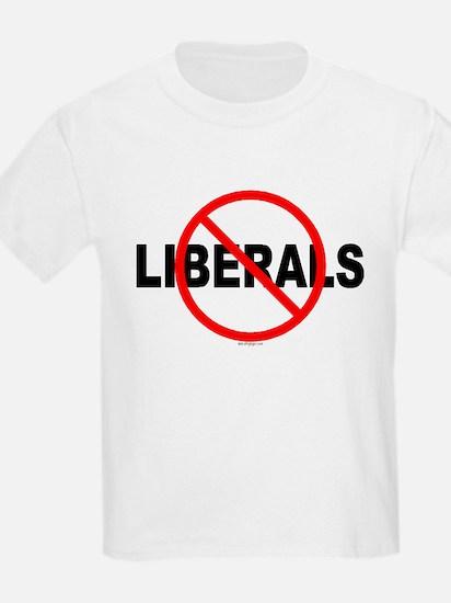 No Liberals Kids T-Shirt