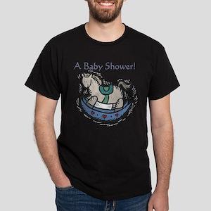 Baby Shower Rocking Horse Dark T-Shirt