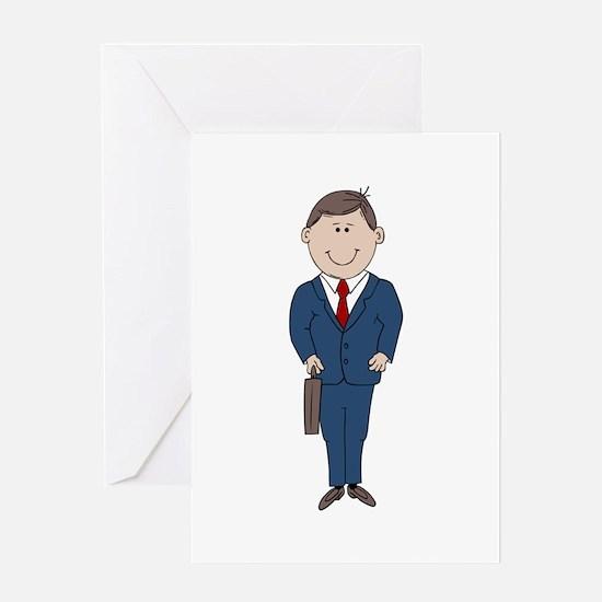 Businessman Greeting Cards