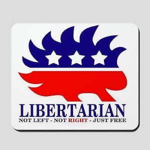 Libertarian Porcupine Mousepad