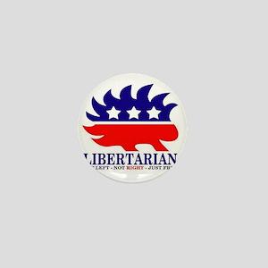 Libertarian Porcupine Mini Button