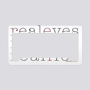 Real Eyes (by Deleriyes) License Plate Holder