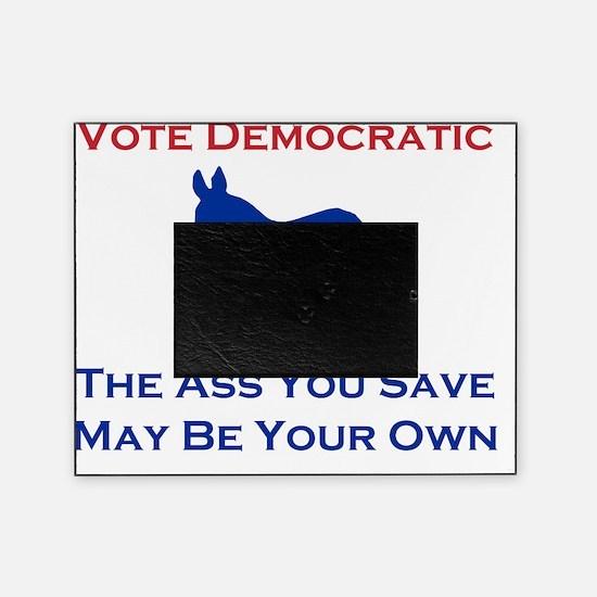 Vote Democratic Picture Frame