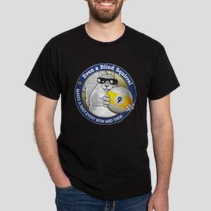 9-Ball Blind Squirrel Dark T-Shirt