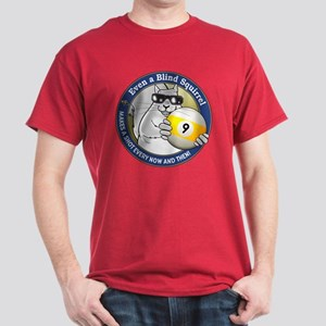 9-Ball Blind Squirrel Dark T-Shirt