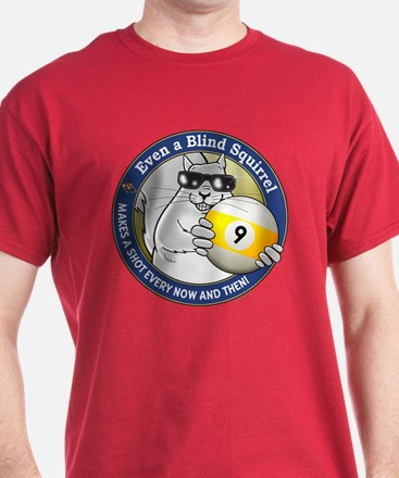9-Ball Blind Squirrel T-Shirt