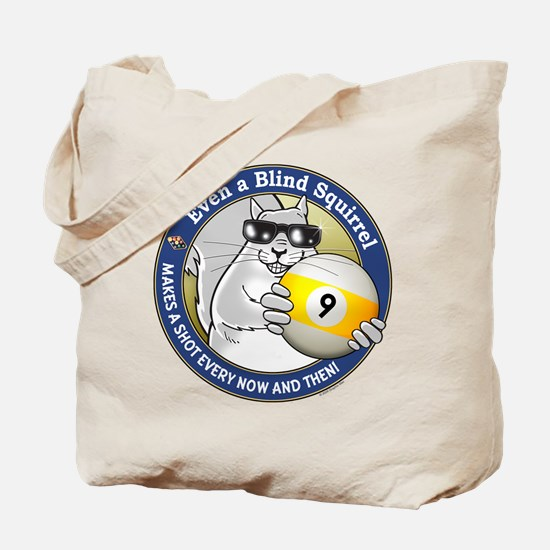9-Ball Blind Squirrel Tote Bag