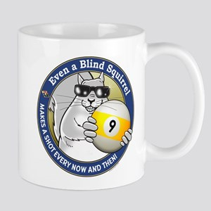 9-Ball Blind Squirrel Mug