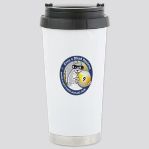 9-Ball Blind Squirrel Stainless Steel Travel Mug