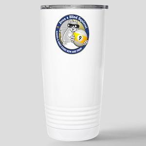 9-Ball Blind Squirrel Stainless Steel Travel Mug