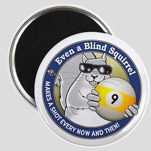 9-Ball Blind Squirrel Magnet