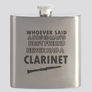 Cool Clarinet designs Flask