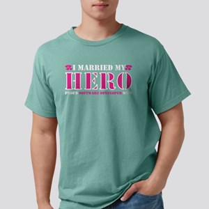 I Married My Hero Proud Software Developer T-Shirt