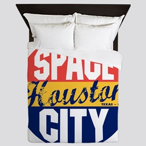 Houston Vintage Label B Queen Duvet