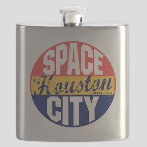 Houston Vintage Label B Flask