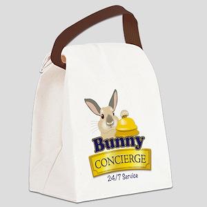 Bunny Concierge Canvas Lunch Bag