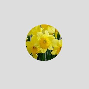Trumpet Daffodil Mini Button