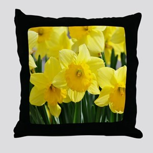 Trumpet Daffodil Throw Pillow