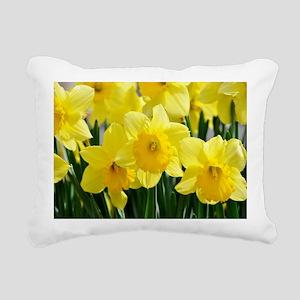 Trumpet Daffodil Rectangular Canvas Pillow