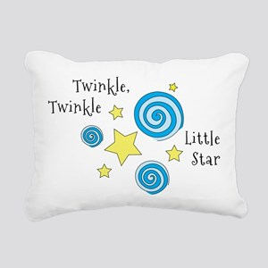 Twinke, Twinkle Little Star Rectangular Canvas Pil
