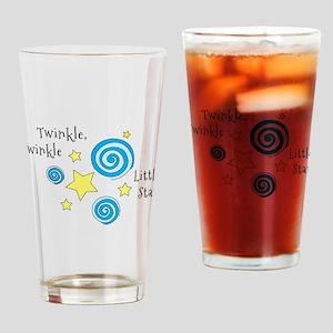Twinke, Twinkle Little Star Drinking Glass