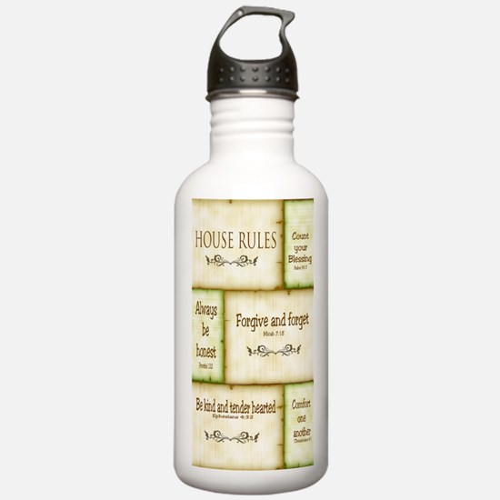 House Rules Water Bottle