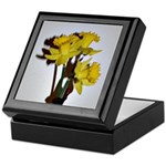 Yellow Daffodils Keepsake Box