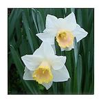 Daffodils Tile Coaster