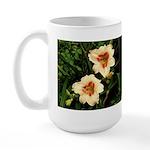 Rainy Daylily Large Mug