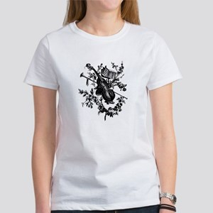 Violin & Roses Women's T-Shirt