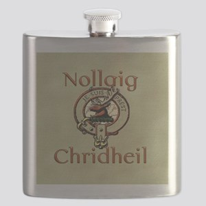 Scots Gaelic Merry Christmas Flask