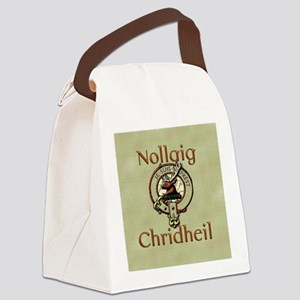 Scots Gaelic Merry Christmas Canvas Lunch Bag